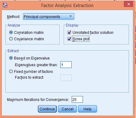 تحلیل عاملی اکتشافی شکل (3)